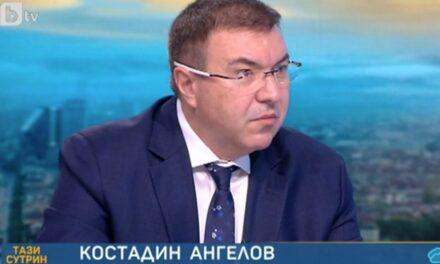 Проф. Костадин Ангелов, министър на здравеопазването, пред БТВ: В настоящия момент нямаме здравна криза в България, КПП-та не са обсъждана мярка