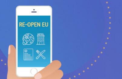 Мобилното приложение Re-open EU вече е и с ежедневна информация за Covid-19