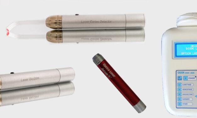 """Специален набор от инструменти за лечение на пародонтити от """"Оптика Лазер"""""""