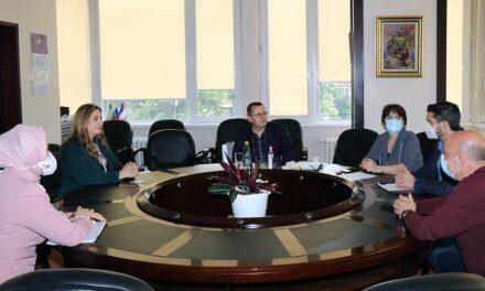 Посланикът на Република Ирак в България посети Факултета по дентална медицина-София
